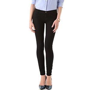 J Brand Super Skinny Denim Leggings in Black